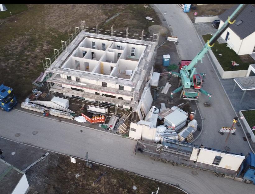 Drohnenbild von Haus OG
