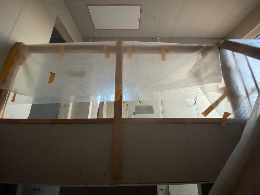 Brüstungwand Treppengeländer aus Glas
